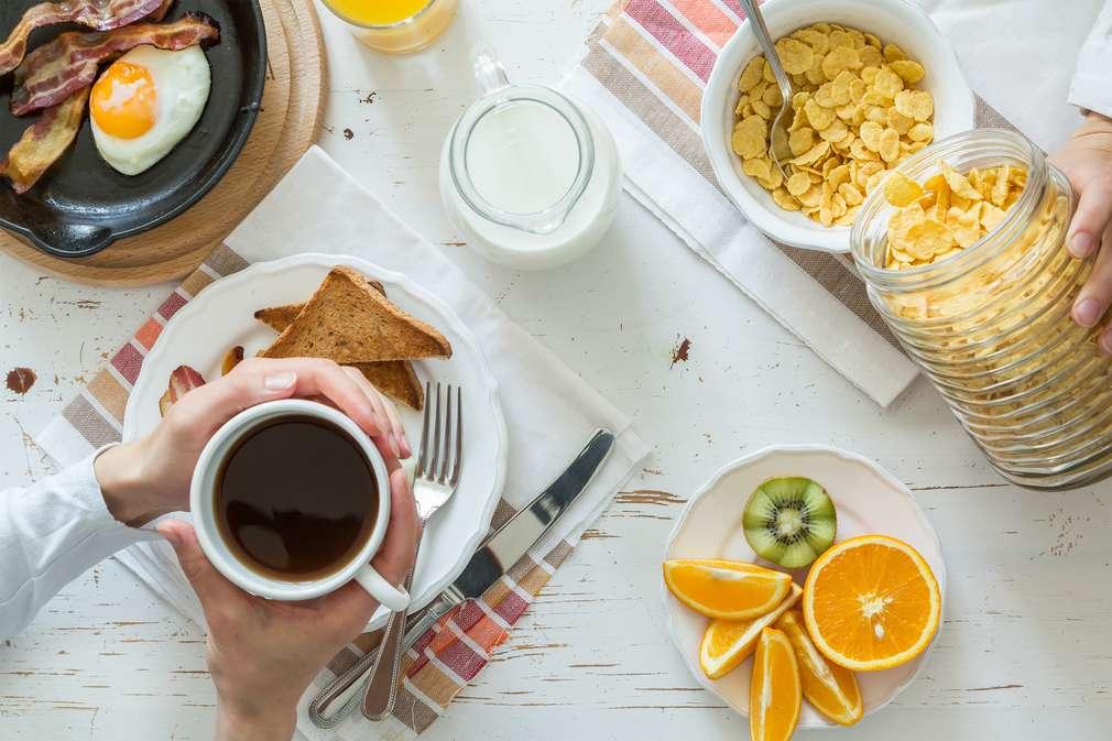 So frühstückt der Amerikaner