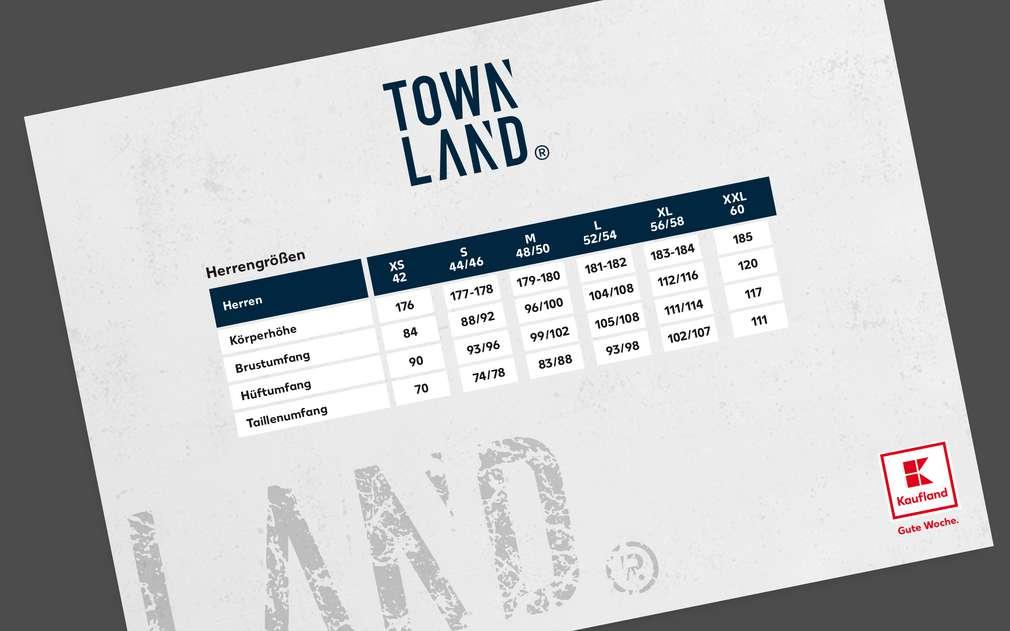 Größentabelle Townland®
