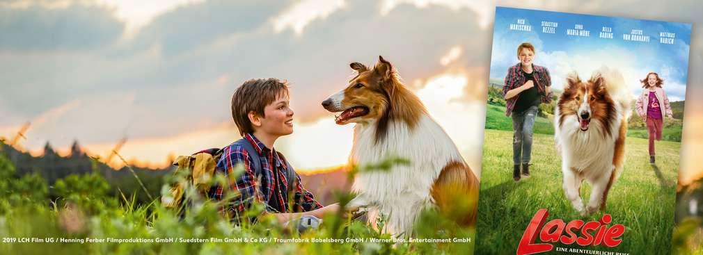 Filmstart von Lassie
