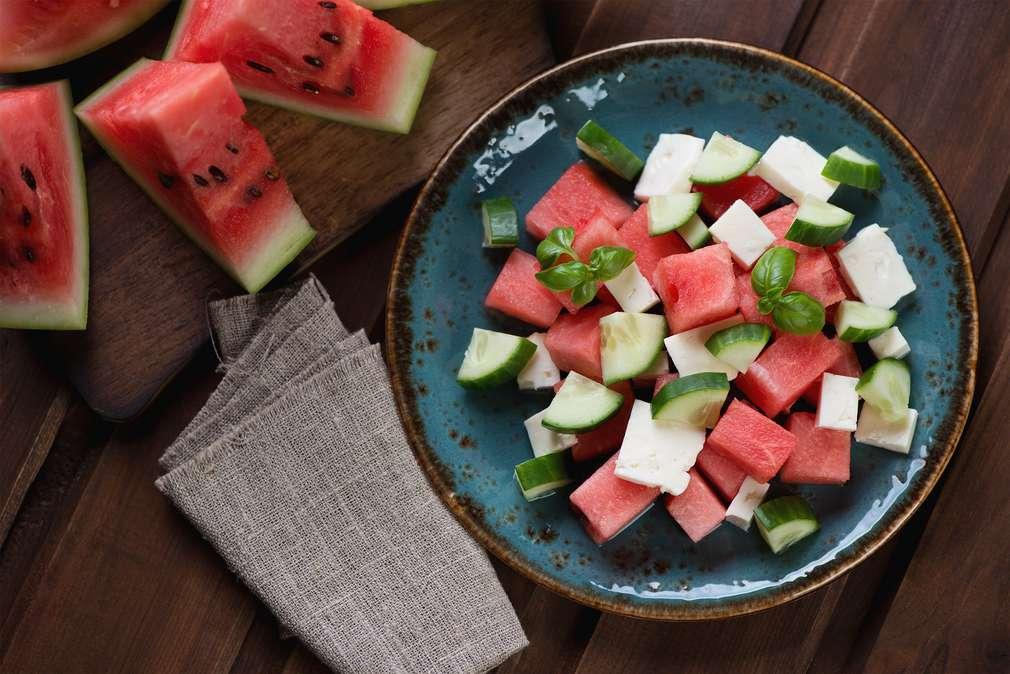Cool bleiben: Kühlende Lebensmittel, die von innen erfrischen