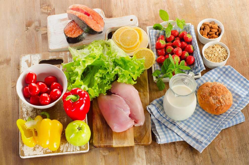 Sieben auf einen Streich: Die Lebensmittelgruppen für die gesunde Ernährung