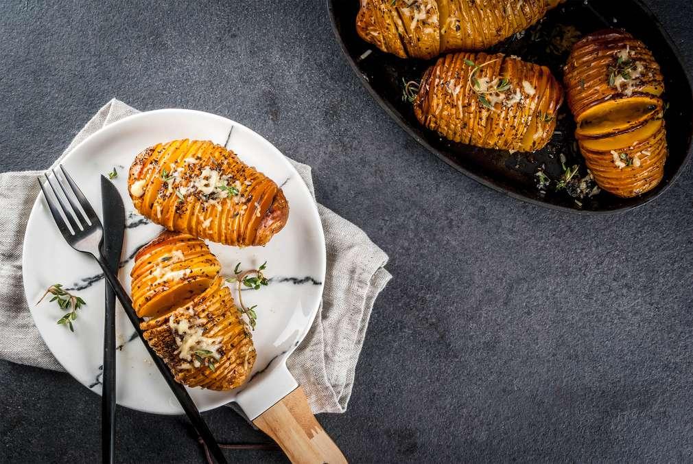 Raffiniert einfach: Hasselback-Kartoffeln