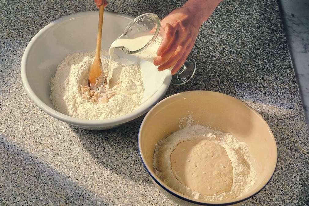 Zu Tisch mit zorra: Brotbacken mit Vorteig