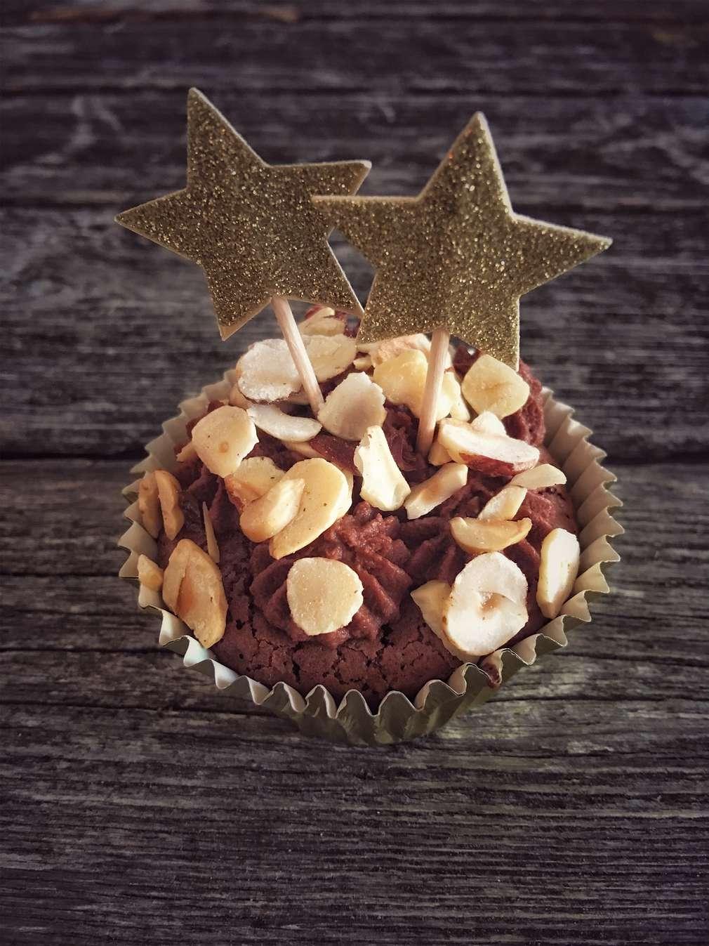 Zu Tisch mit Hol(l)a die Kochfee: Double Chocolate Cupcakes