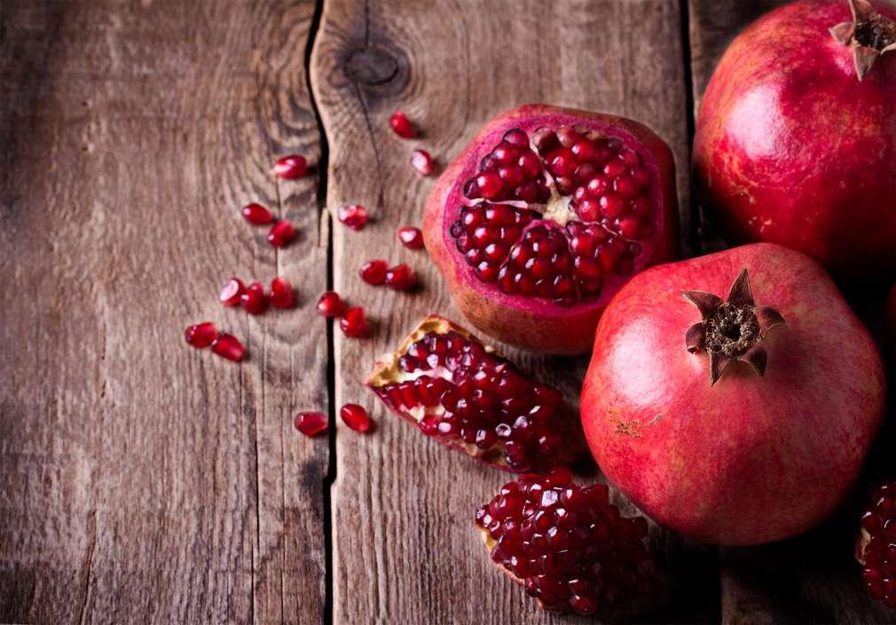 Der Granatapfel - leckere Vitaminbombe