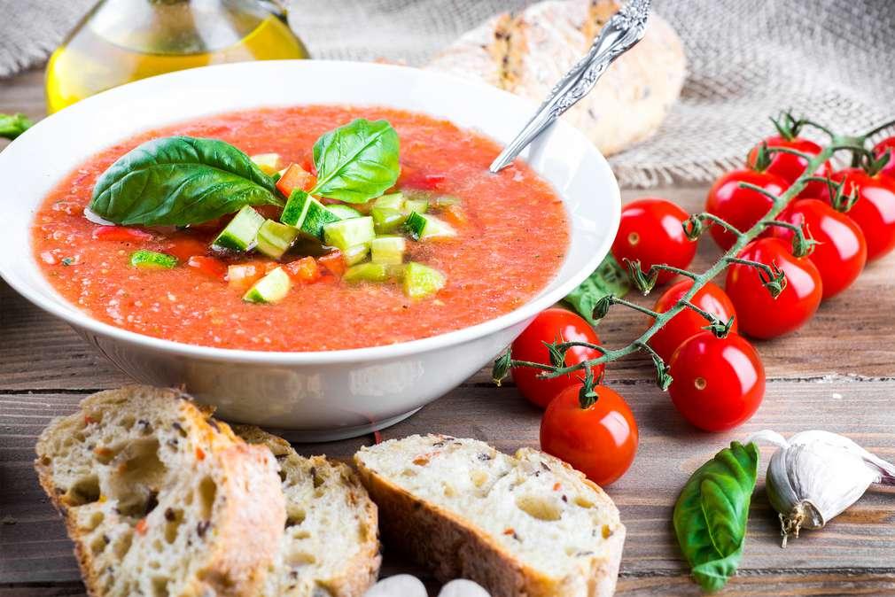 Gazpacho: Suppe gefällig?