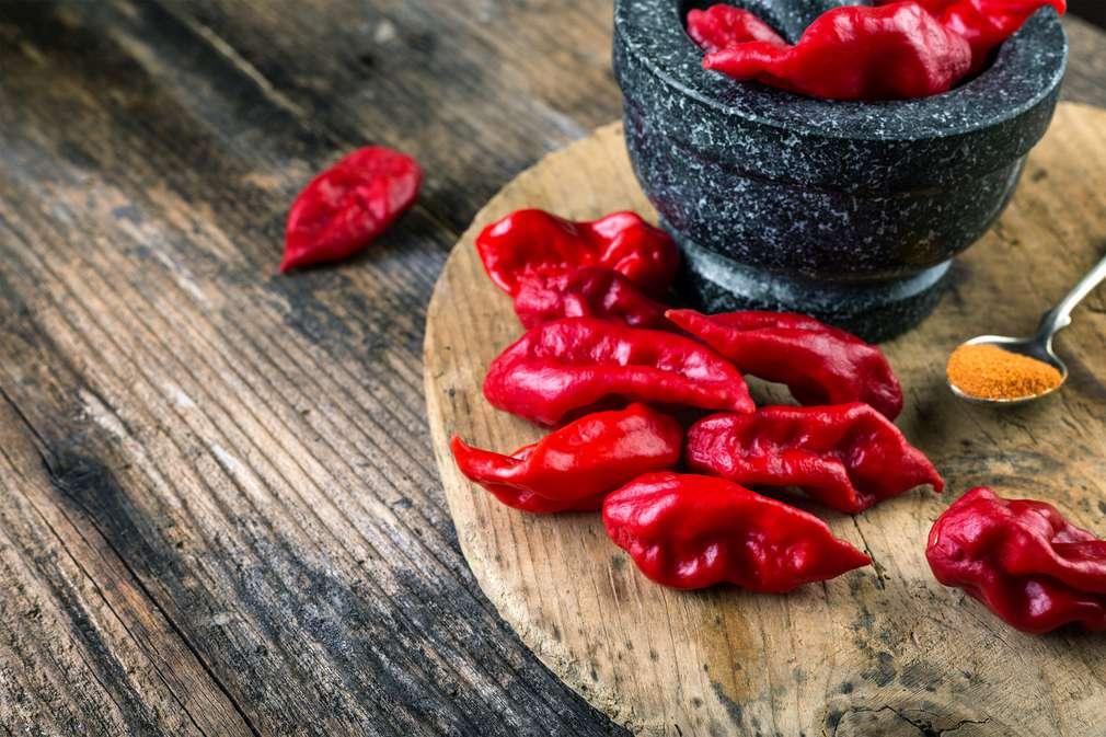 Scharfes Essen: Von Chilis und anderen Scharfmachern
