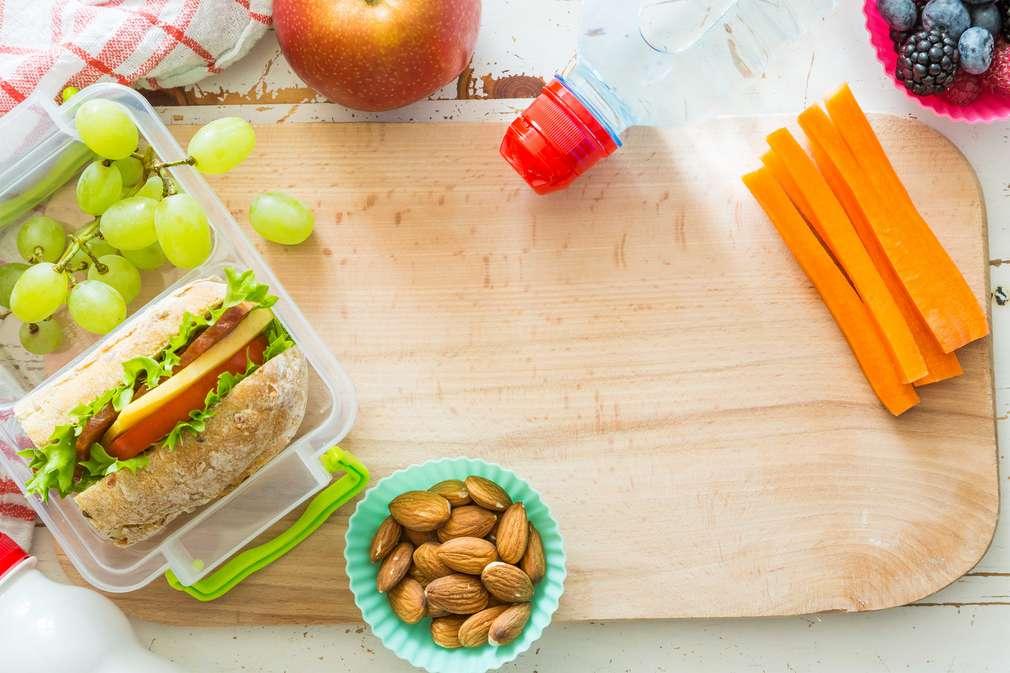 Gesunde Snacks fürs Büro