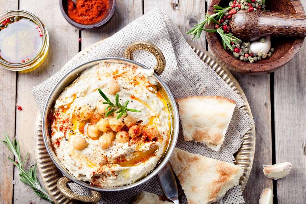 Hummus - Wandelbarer Dip
