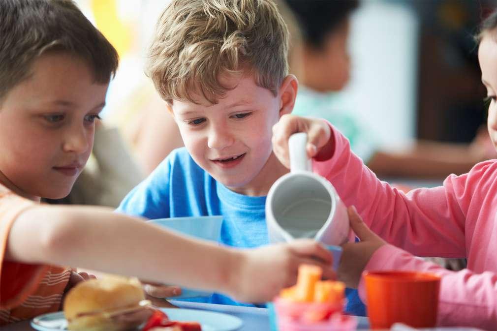 Im Kindergarten: So essen Kinder gesund