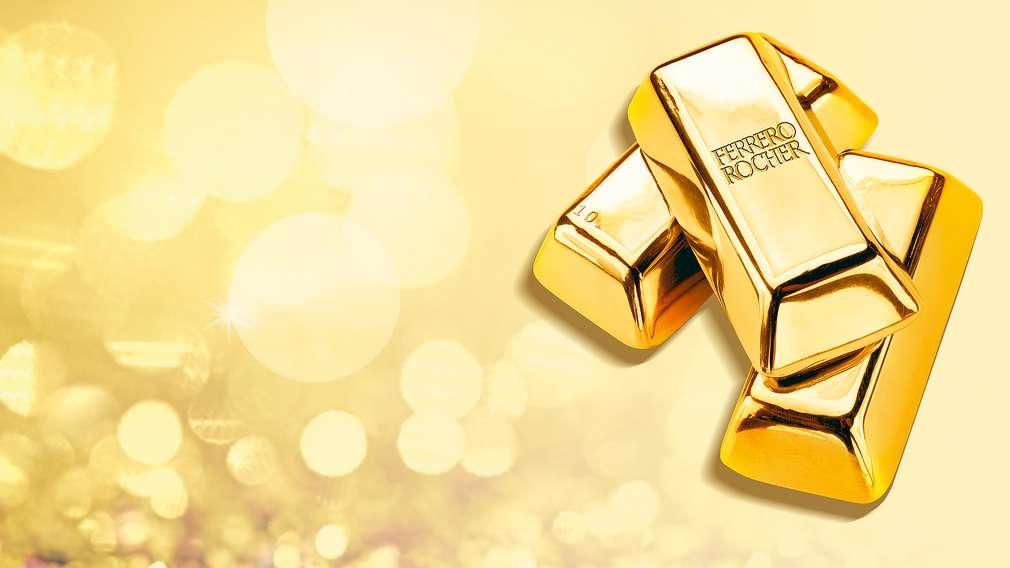 Ferrero-Goldbarren-Gewinnspiel
