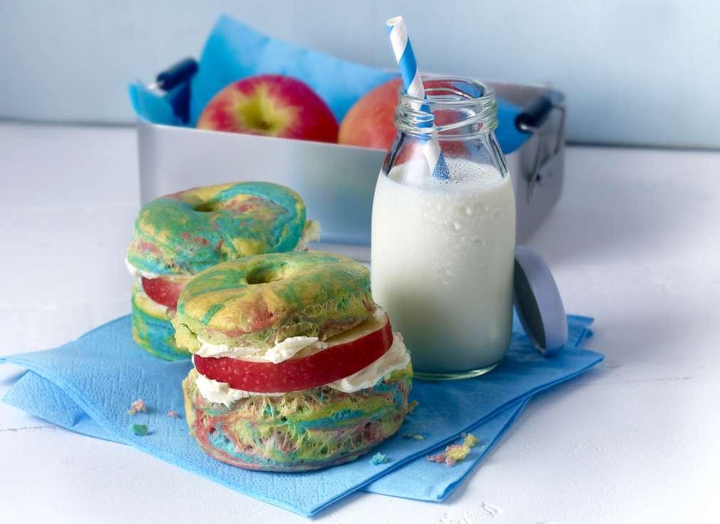 Rainbow-Bagels