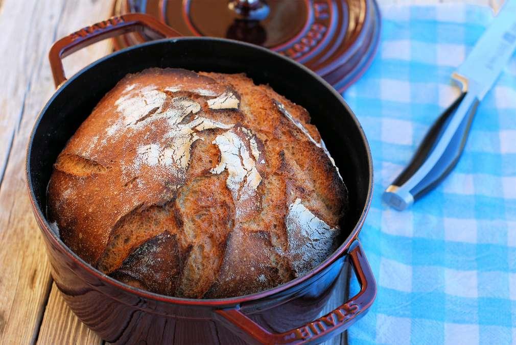 Zu Tisch mit zorra: knusprig-frisches Topfbrot