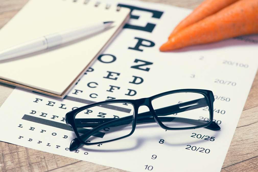 Leckere Lebensmittel für gesunde Augen