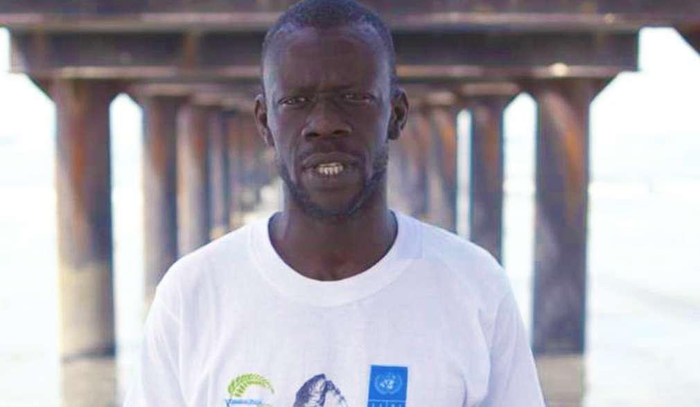 Vertreter der Rotzungenfischer in Gambia
