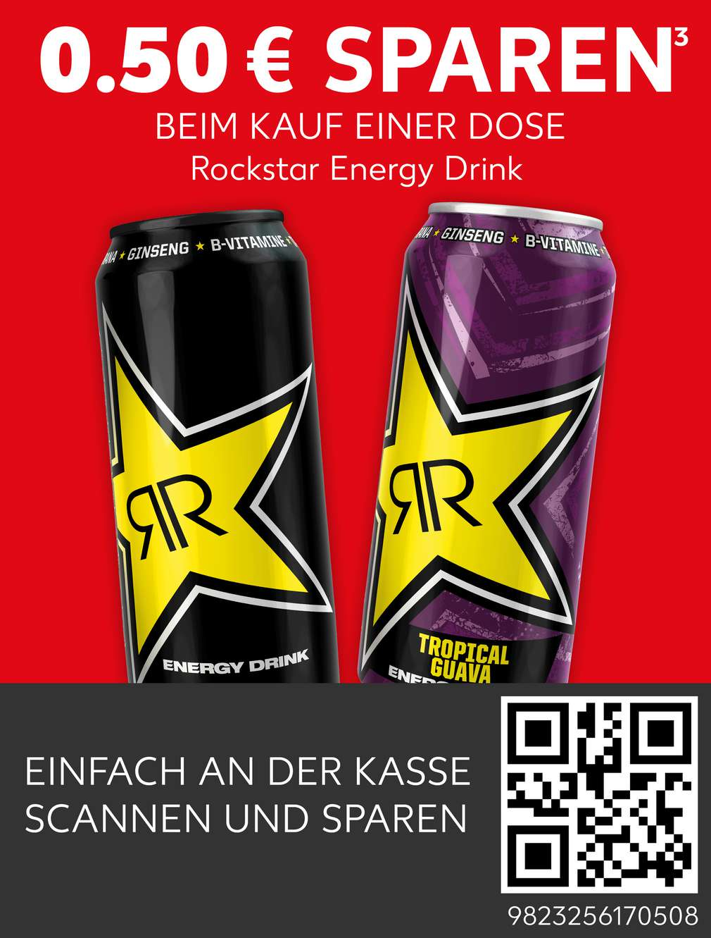 Coupon Rockstar Energy Drink