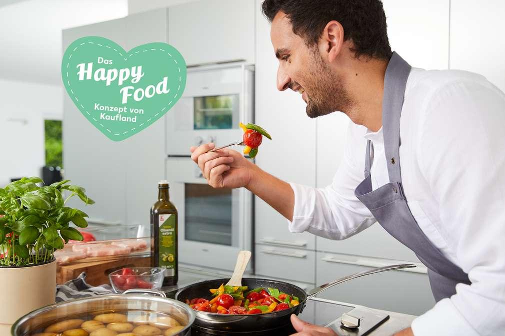 Alex Wahi in der Küche
