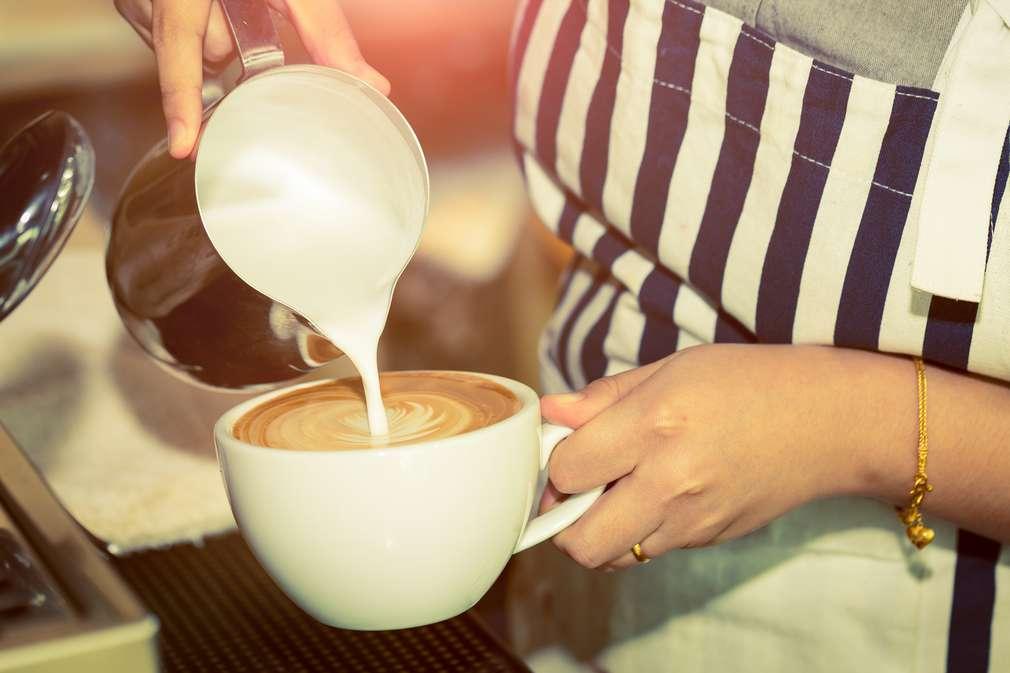 Kaffee servieren