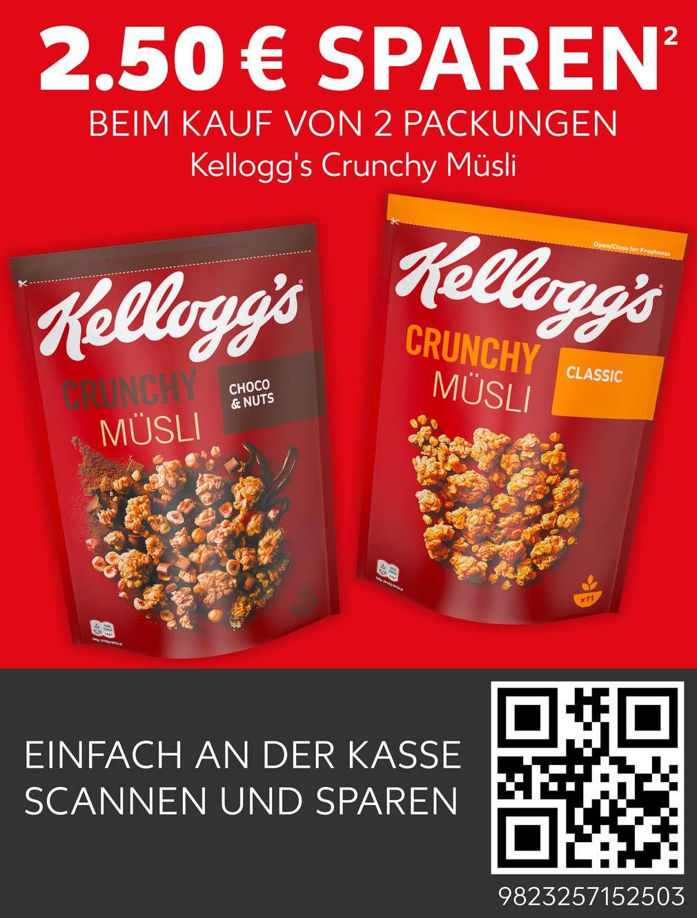Coupon Kellogg's Crunchy Müsli