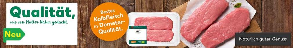 Abbildung Kalbfleisch in Demeter-Qualität