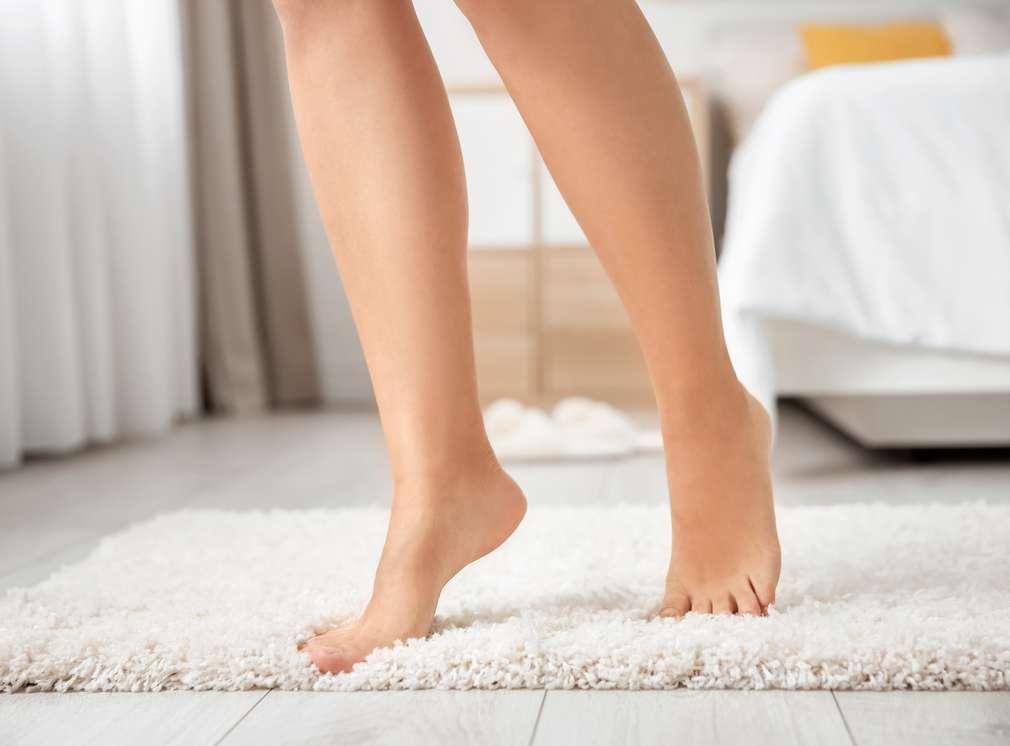 Fußspitzen