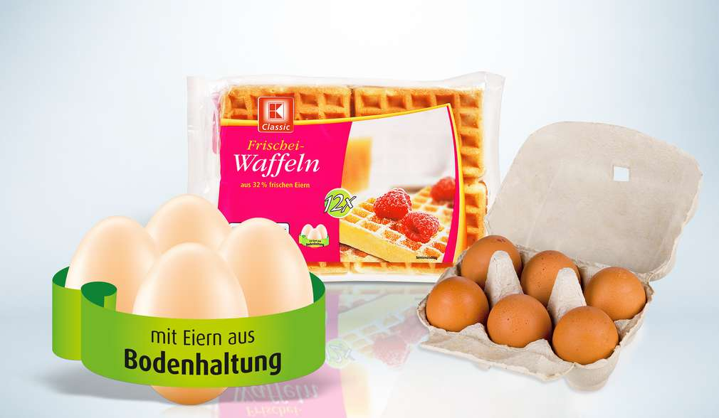 """Kennzeichnung """"Mit Eiern aus Bodenhaltung"""""""