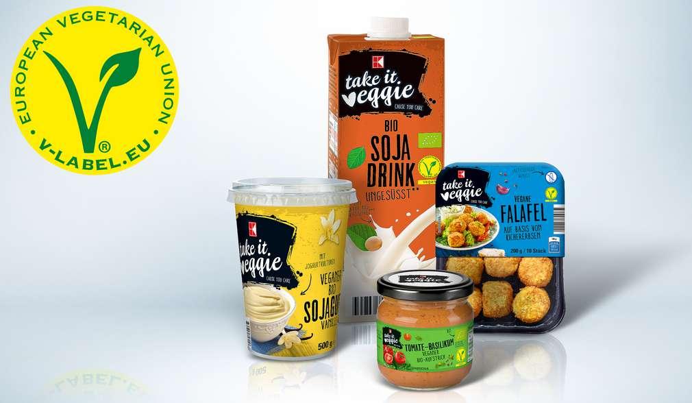 Vegetarische und vegane Produkte