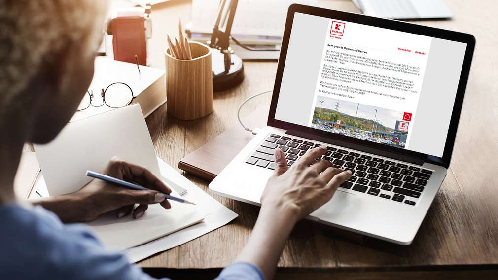 Newsletter-Anmeldung Immobilien