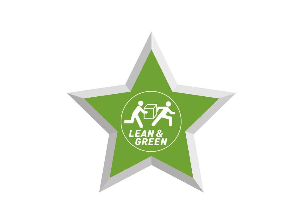 """Abbildung der Auszeichnung """"Lean and Green"""""""