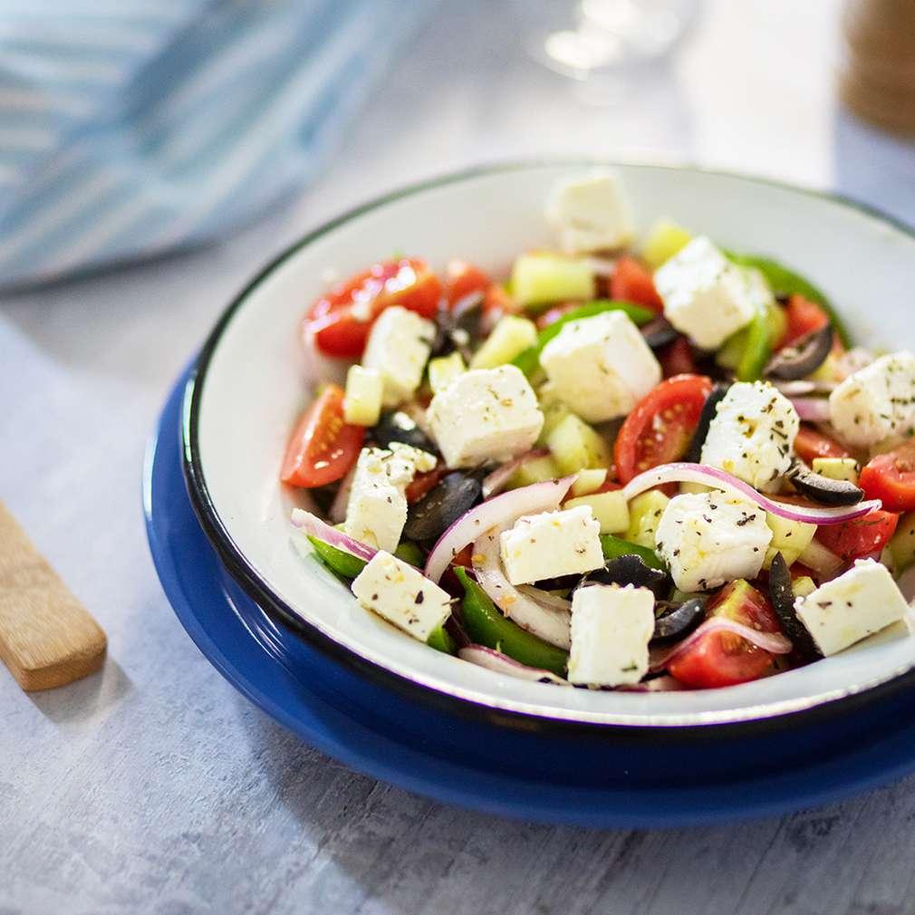 Fotografija recepta Grčka salata