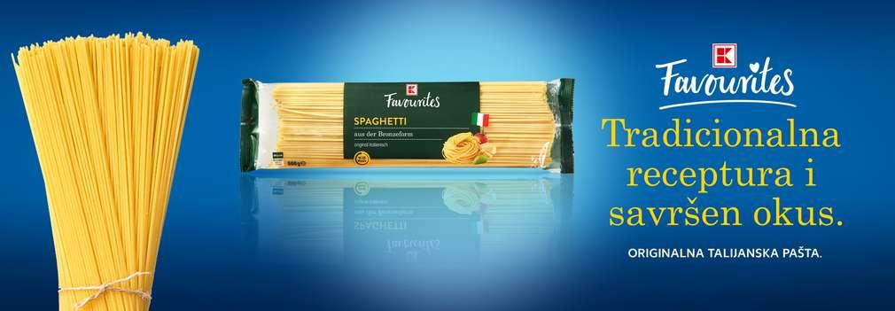 K-Favourites špageti