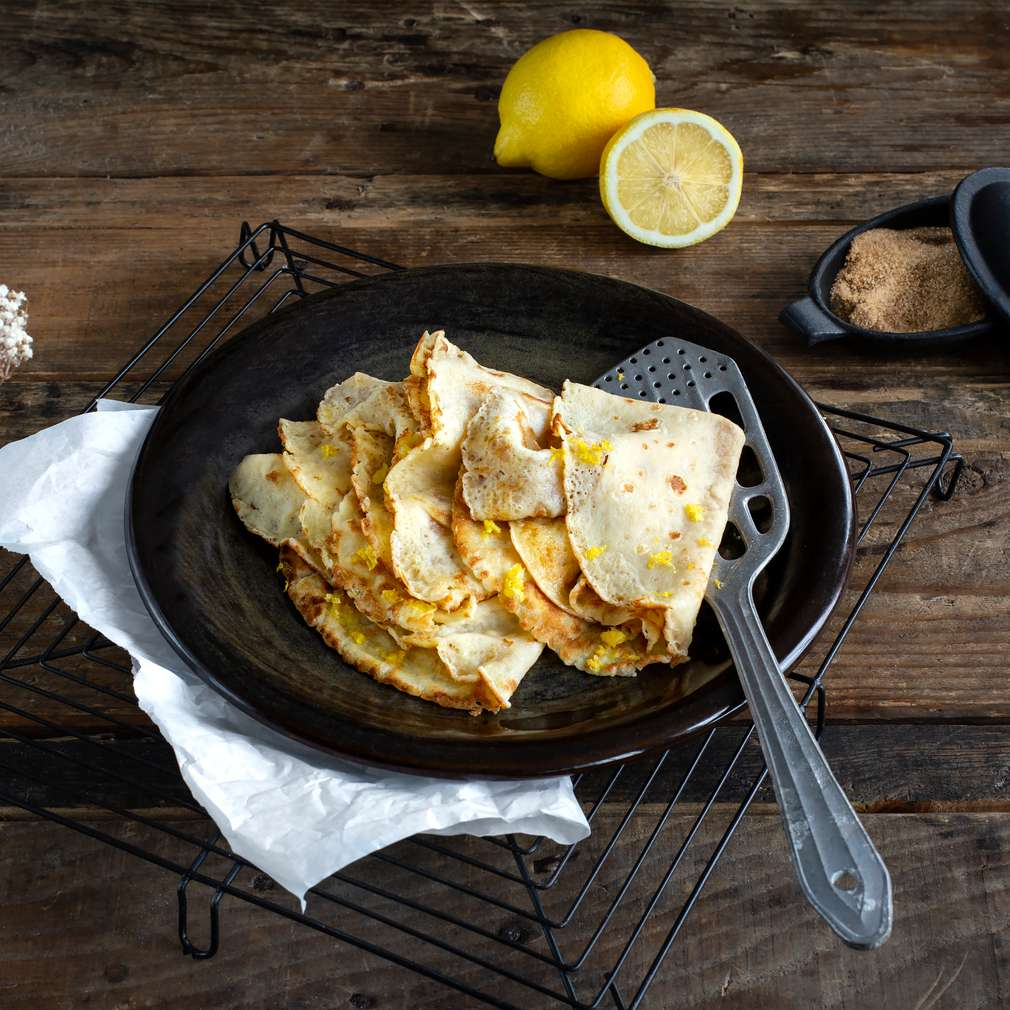 Fotografija recepta Francuske palačinke s limunom