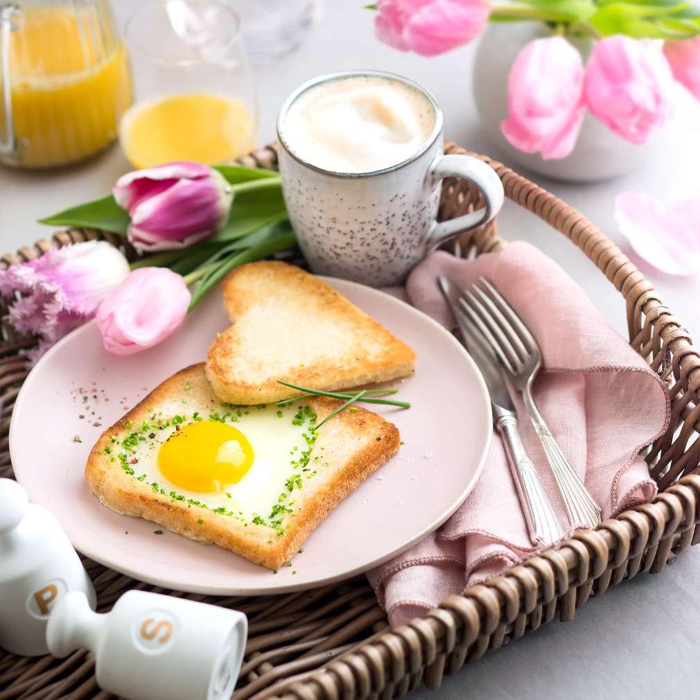Fotografija recepta Tost u obliku srca