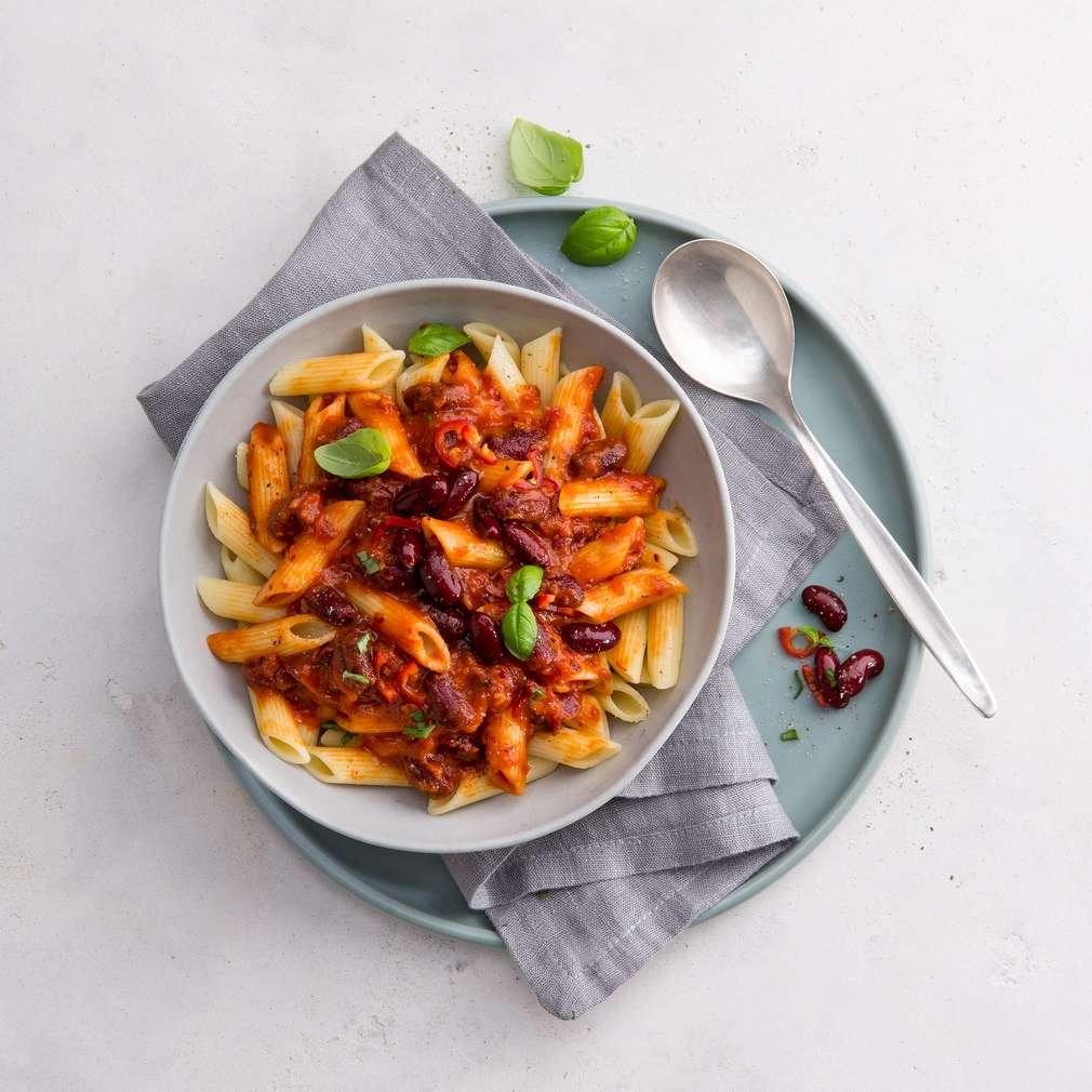 Fotografija recepta Tjestenina s umakom od rajčica
