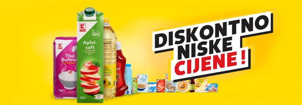 K-Classic Produkte auf gelbem Hintergrund