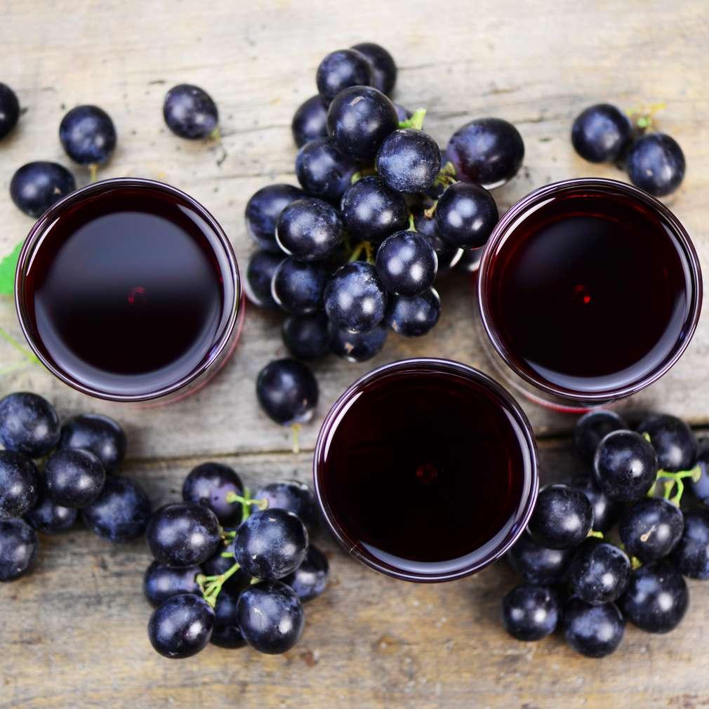 Fotografija recepta Sirup od grožđa