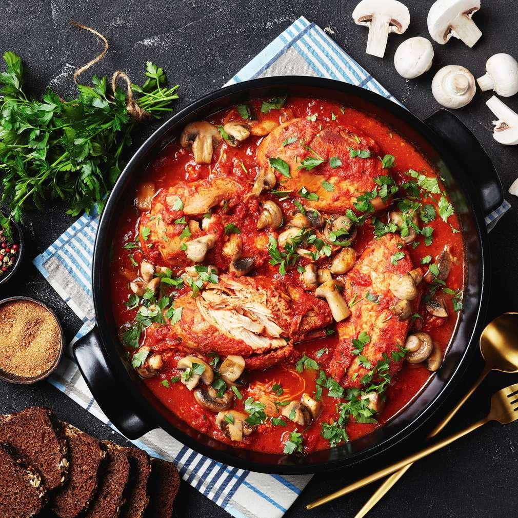 Fotografija recepta Piletina u kremastom umaku