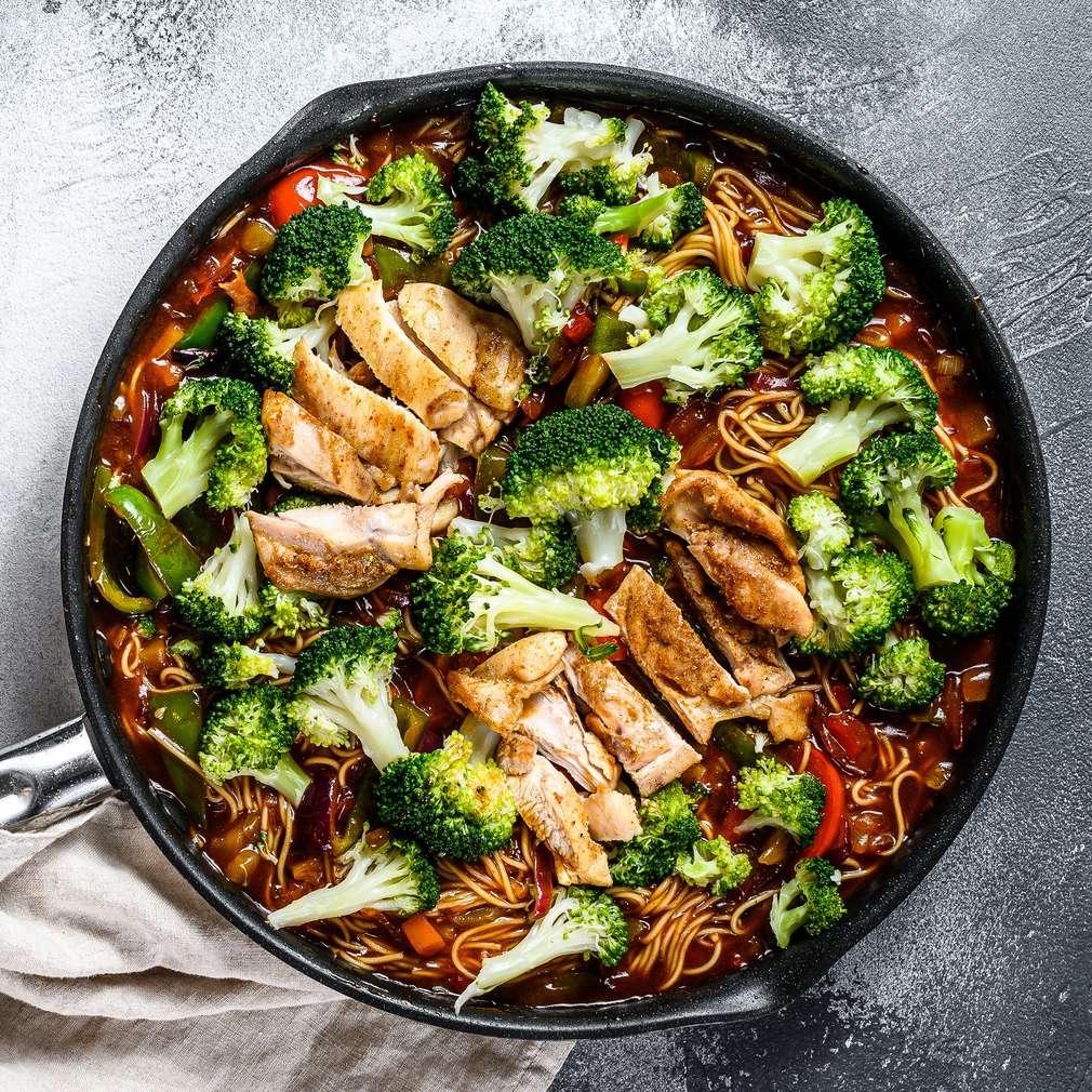 Fotografija recepta Wok s piletinom