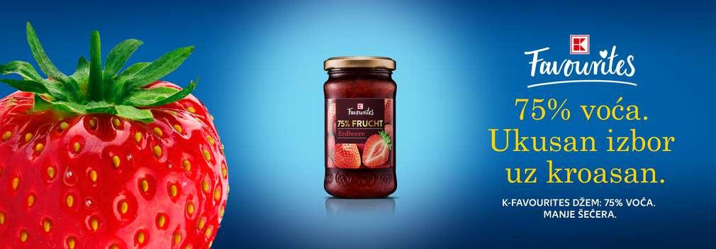 K-Favourites džem od jagode