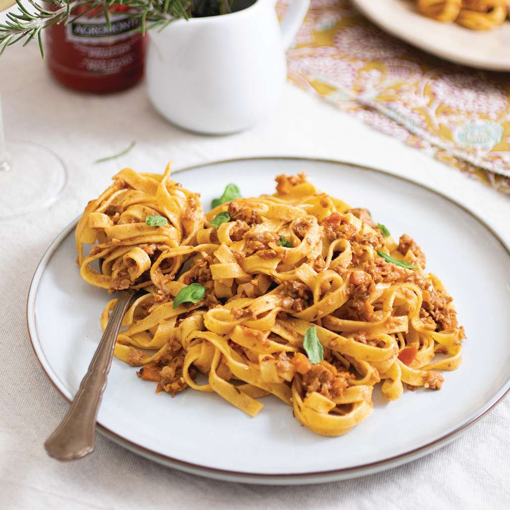 Fotografija recepta Ragu s gljivama i orasima