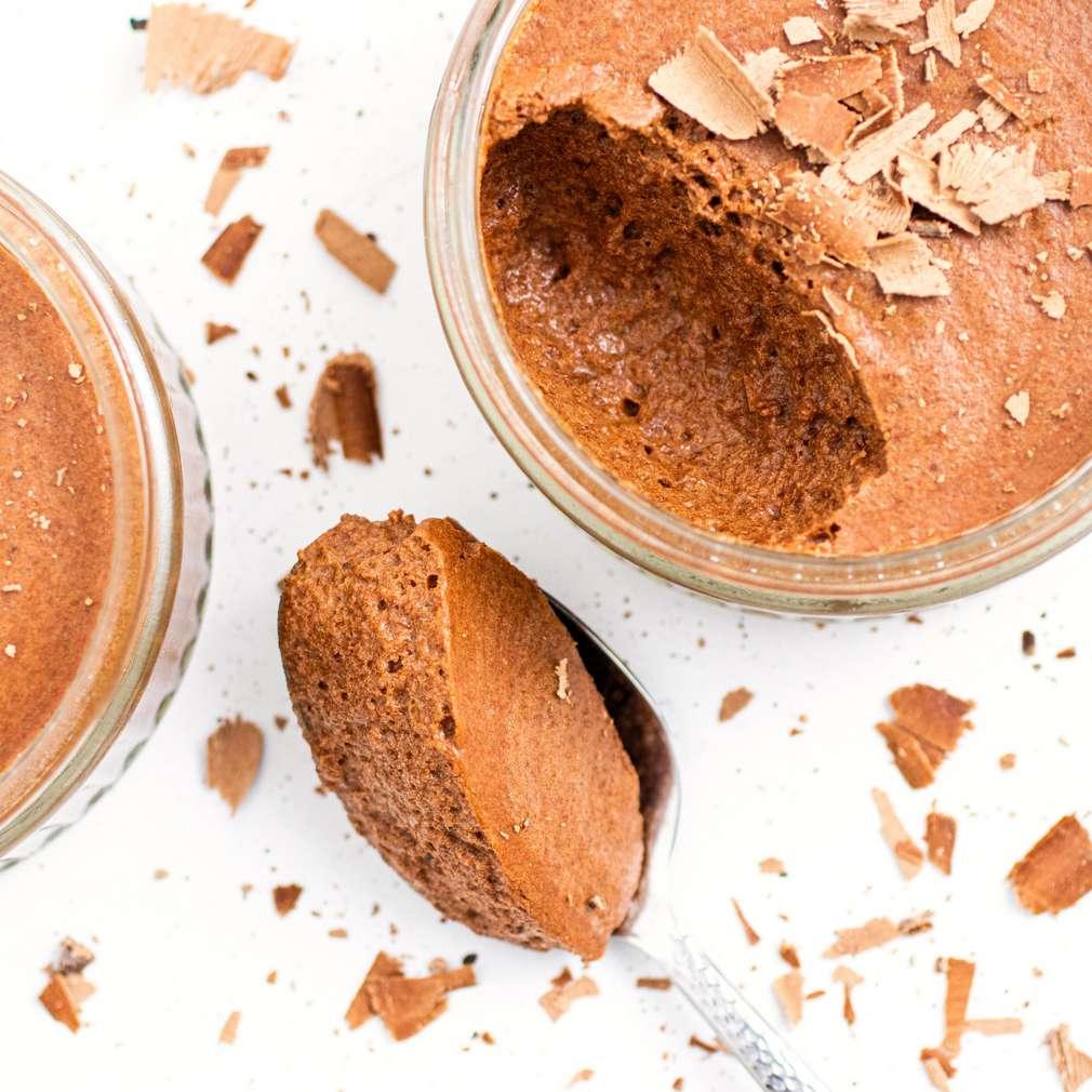 Fotografija recepta Aquafaba mousse od čokolade
