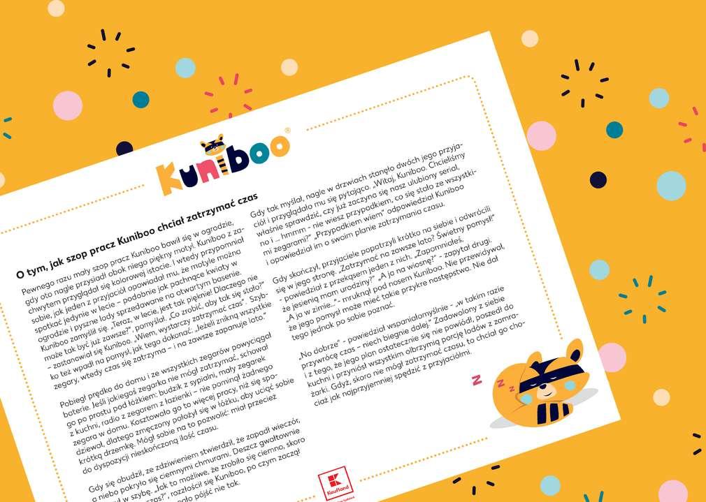 Kuniboo® – Bajka na dobranoc