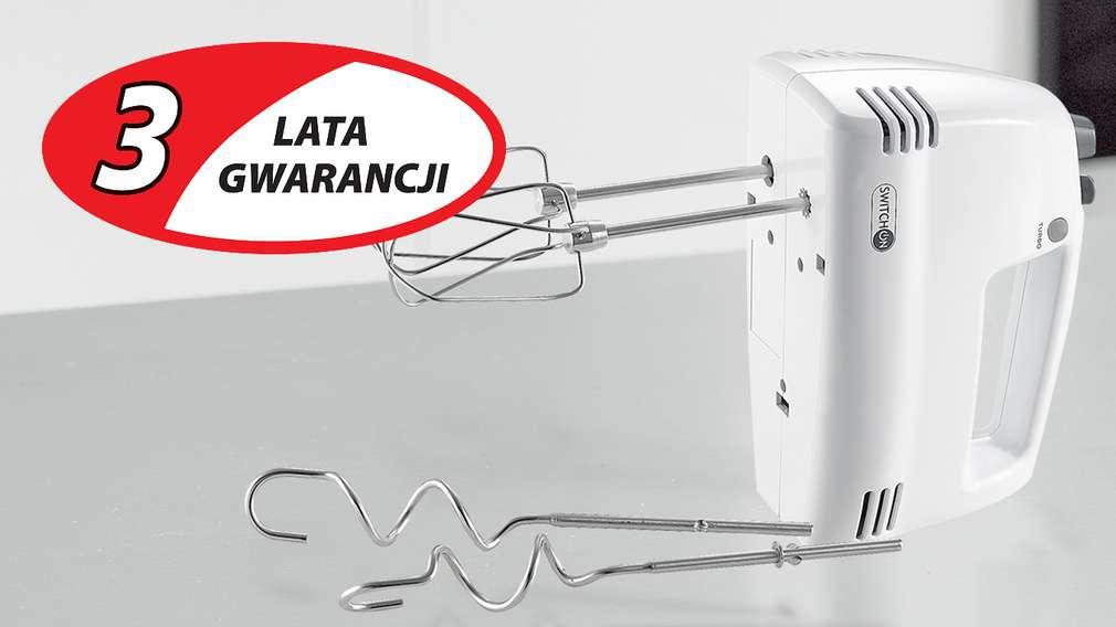 3 lata gwarancji na wszystkie urządzenia elektryczne!