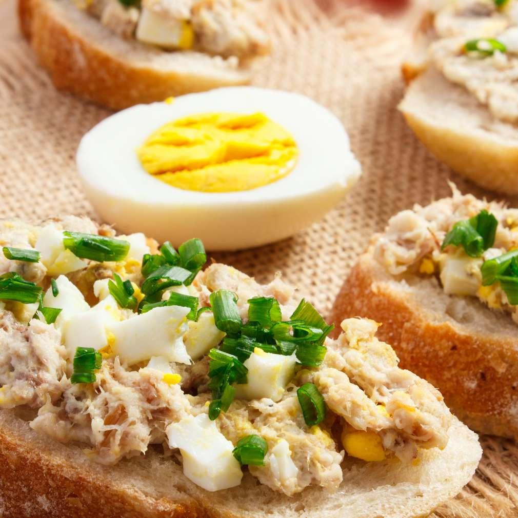 Zdjęcie przepisu Pasta do pieczywa z wędzonej ryby i jajek