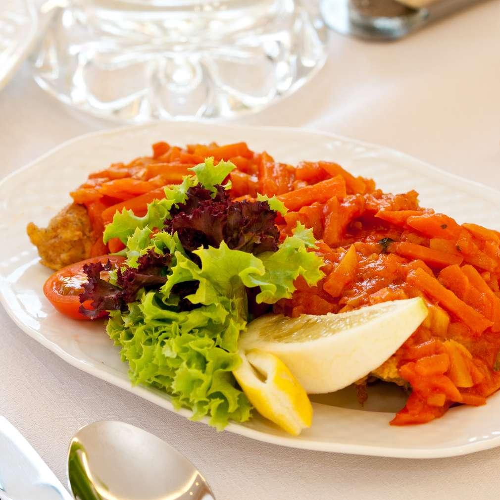 Zdjęcie przepisu Ryba po grecku