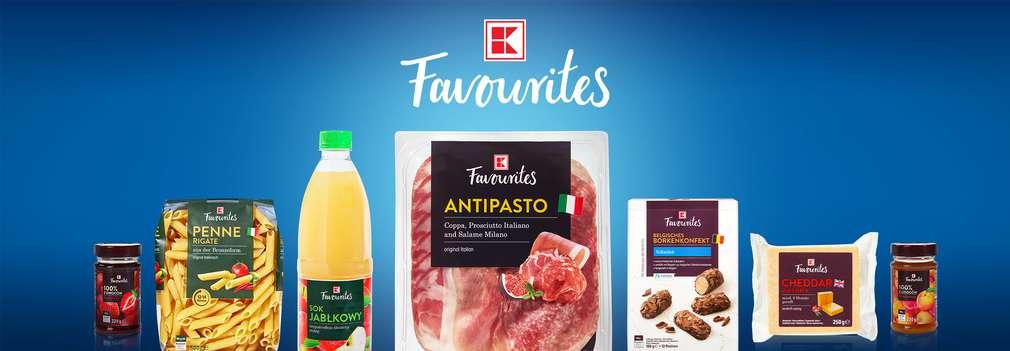 K-Favourites® - wyjątkowe produkty w Kauflandzie