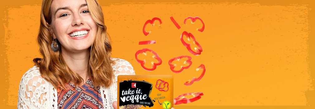 Aleg produsele vegetariene K-take it veggie