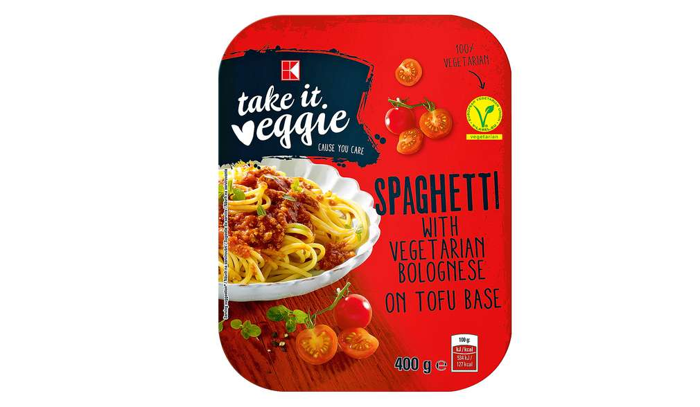 Spaghete bolognese K-take it veggie