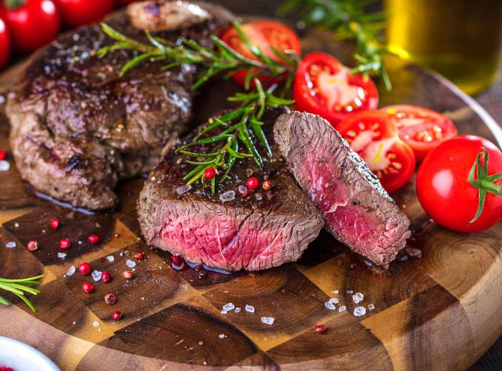 Carnea de vită pe grătar