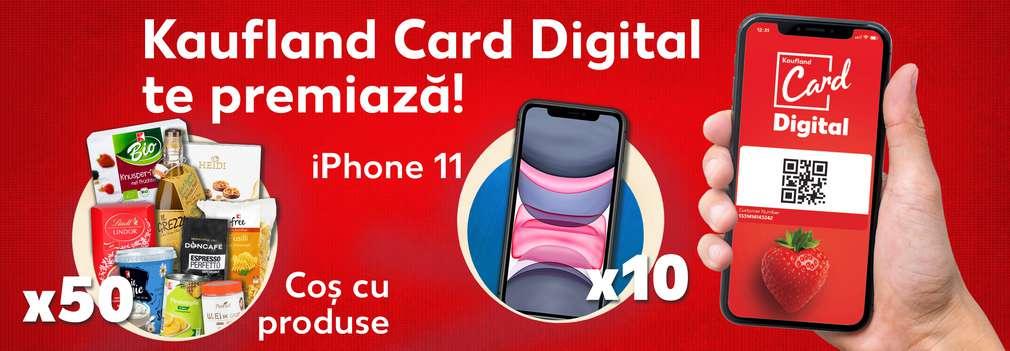 Concurs online Kaufland Card Digital